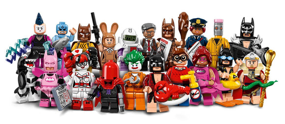 MINIFIGURES LEGO 71017 SERIE 17 COMPLETA BATMAN?MOVIE 20 PERSONAGGI - Wigashop