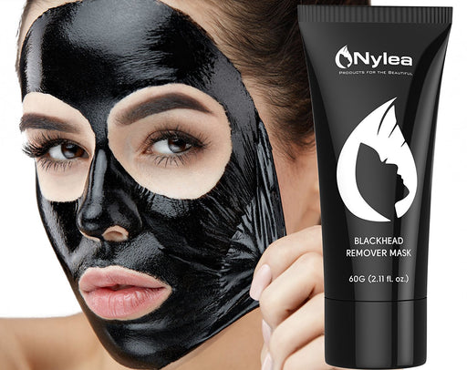 Blackhead Remover Mask [Removes Blackheads] - Purifying Quality Black Peel off Charcoal Mask - blackfridaily