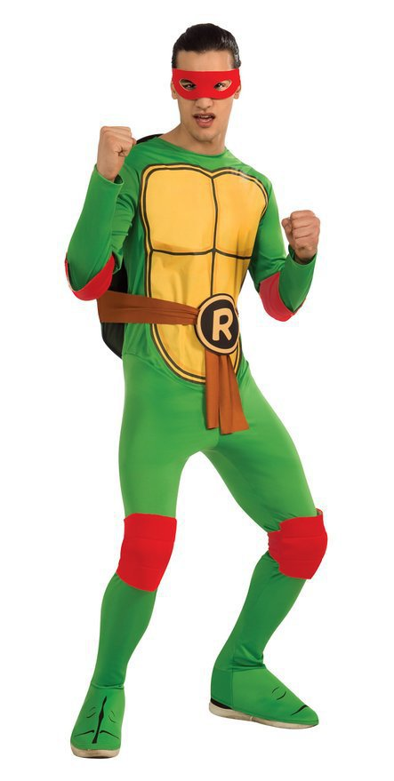 Costume Men's Teenage Mutant Ninja Turtles Deluxe Adult Muscle Unisex One Size - blackfridaily