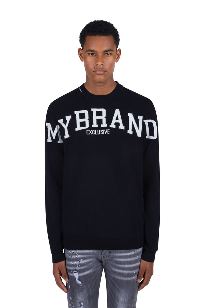 My Brand Sweater Exclusive Jumper Zwart