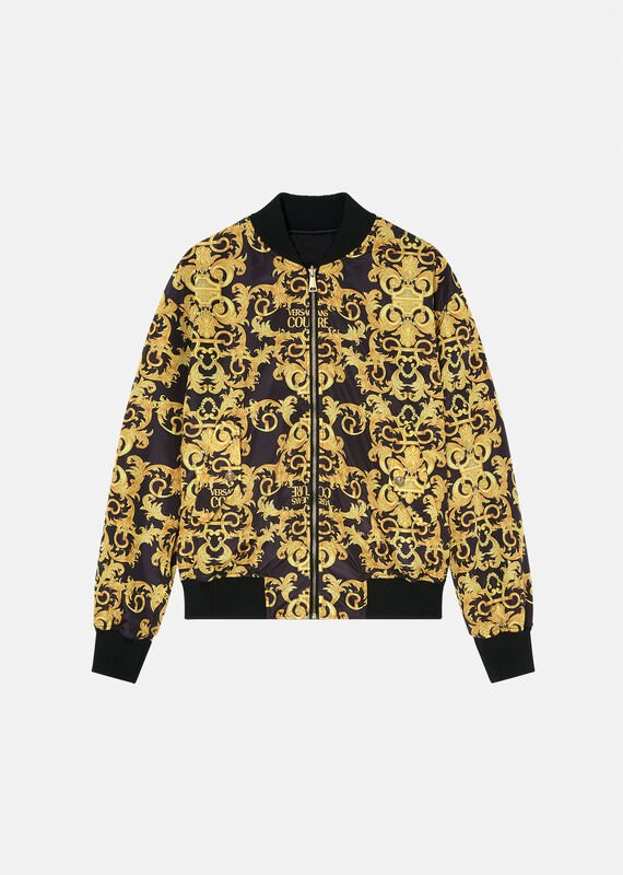 Versace Bomber Jacket Reversible Baroque