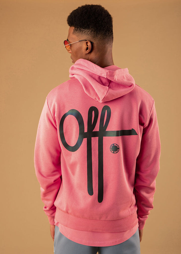 Off The Pitch The Earth Hoodie Roze