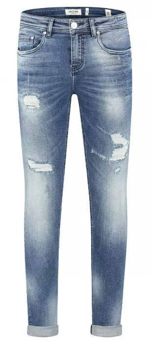 Circle Of Trust Axel Jeans Troubled Water Blauw