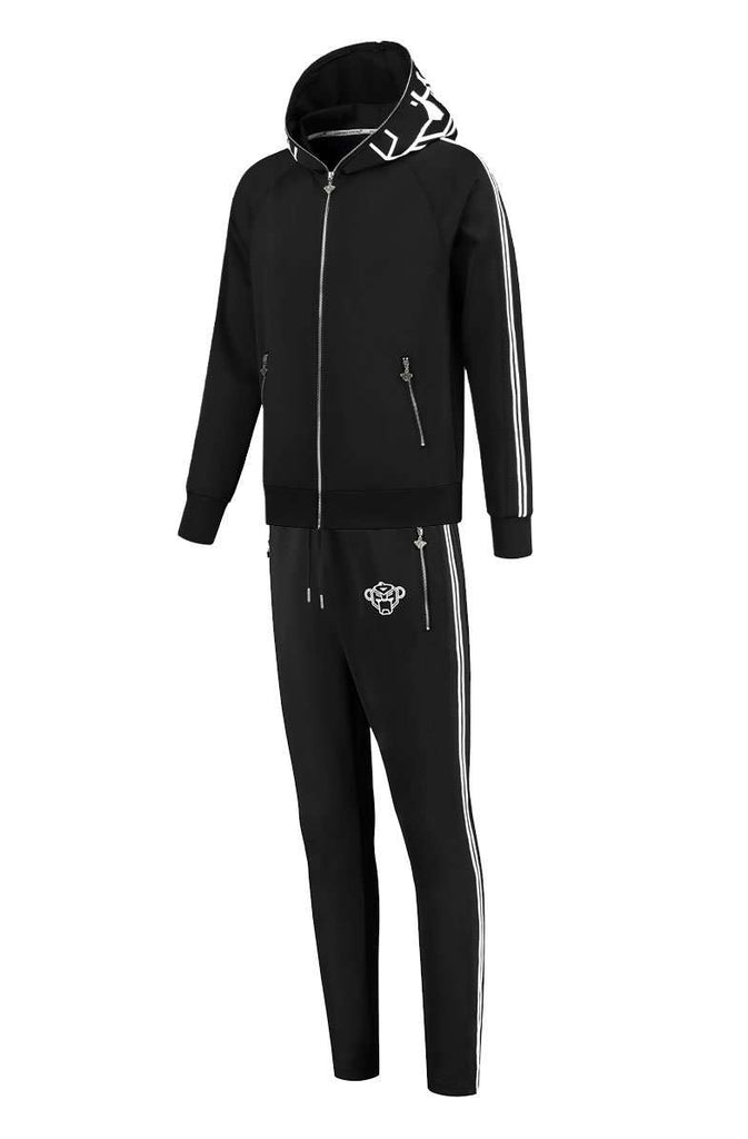 Black Bananas Incognito Tracksuit Zwart / Wit