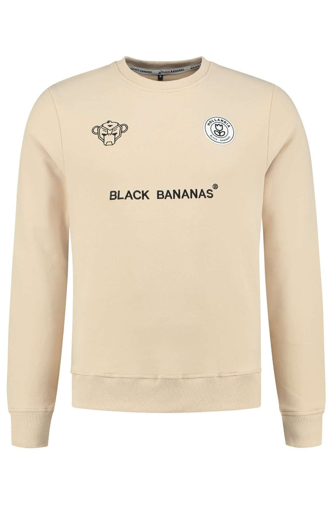 Black Bananas KIDS F.C. Basic Crewneck Zand