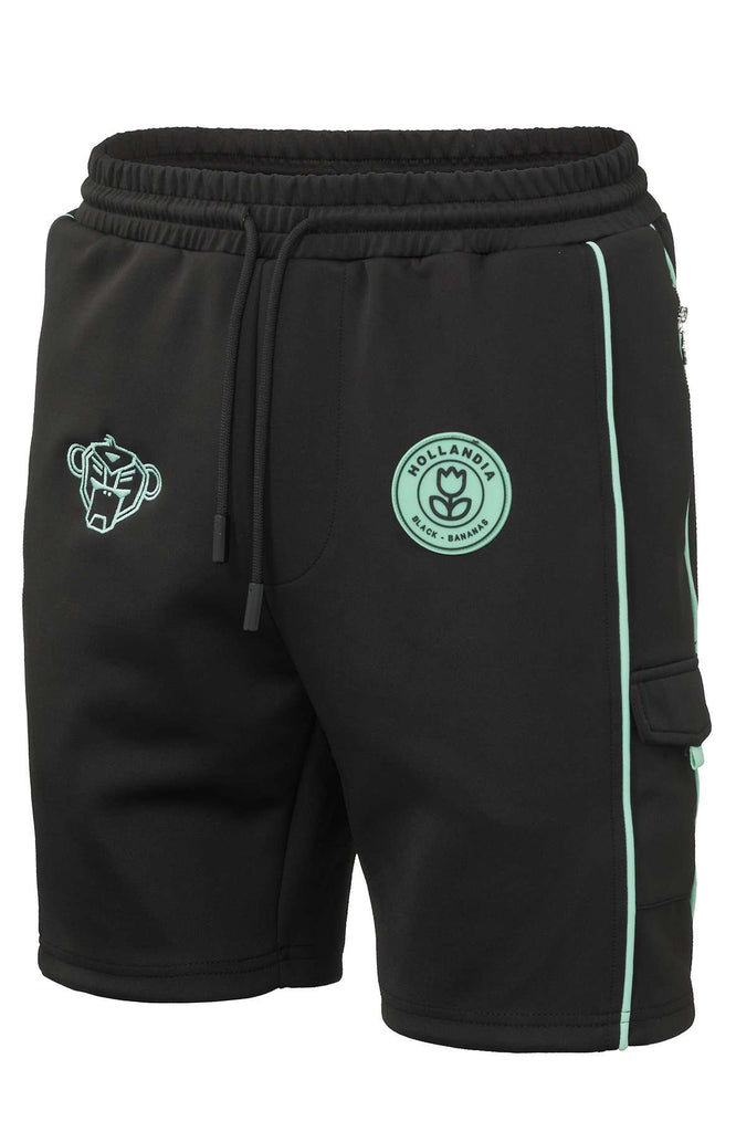 Black Bananas Short F.C. Striker Zwart / Aqua
