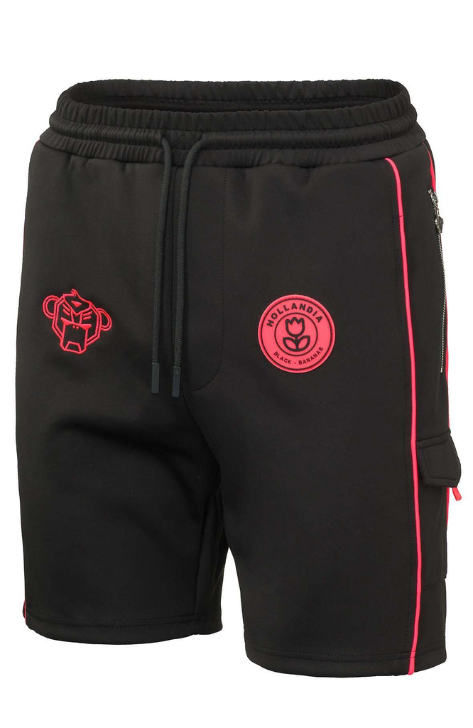 Black Bananas Short F.C. Striker Zwart / Roze