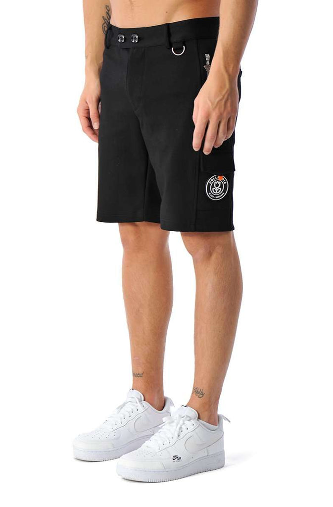 Black Bananas Short Pantalon Pocket Zwart