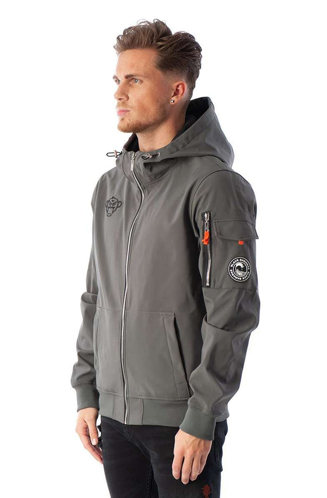 Black Bananas Soft Shell Jacket Melbourne Grijs