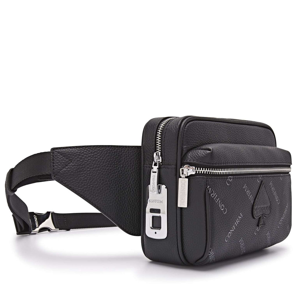 Confirm Identitas Waist Bag All Over Zwart