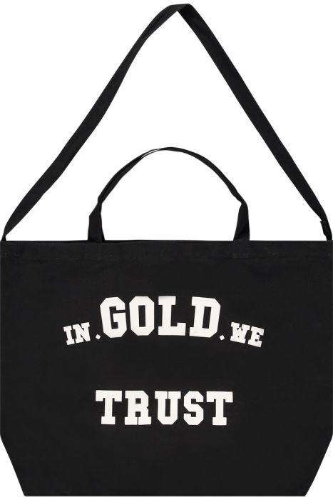 In Gold We Trust bag