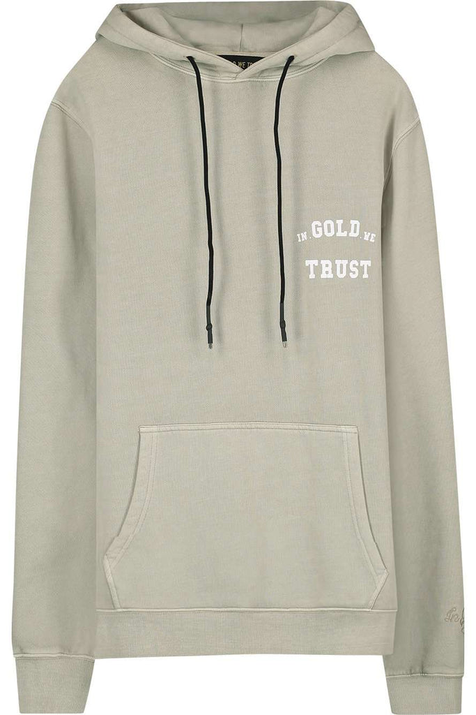 In Gold We Trust hoodie safari