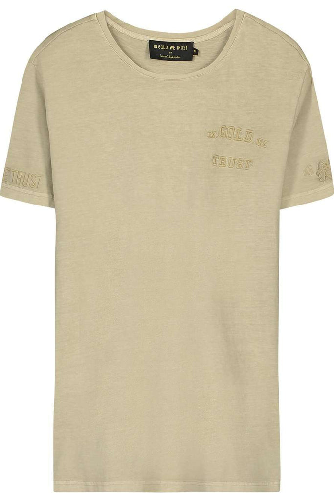 In Gold We Trust T-shirt The Pusha Safari