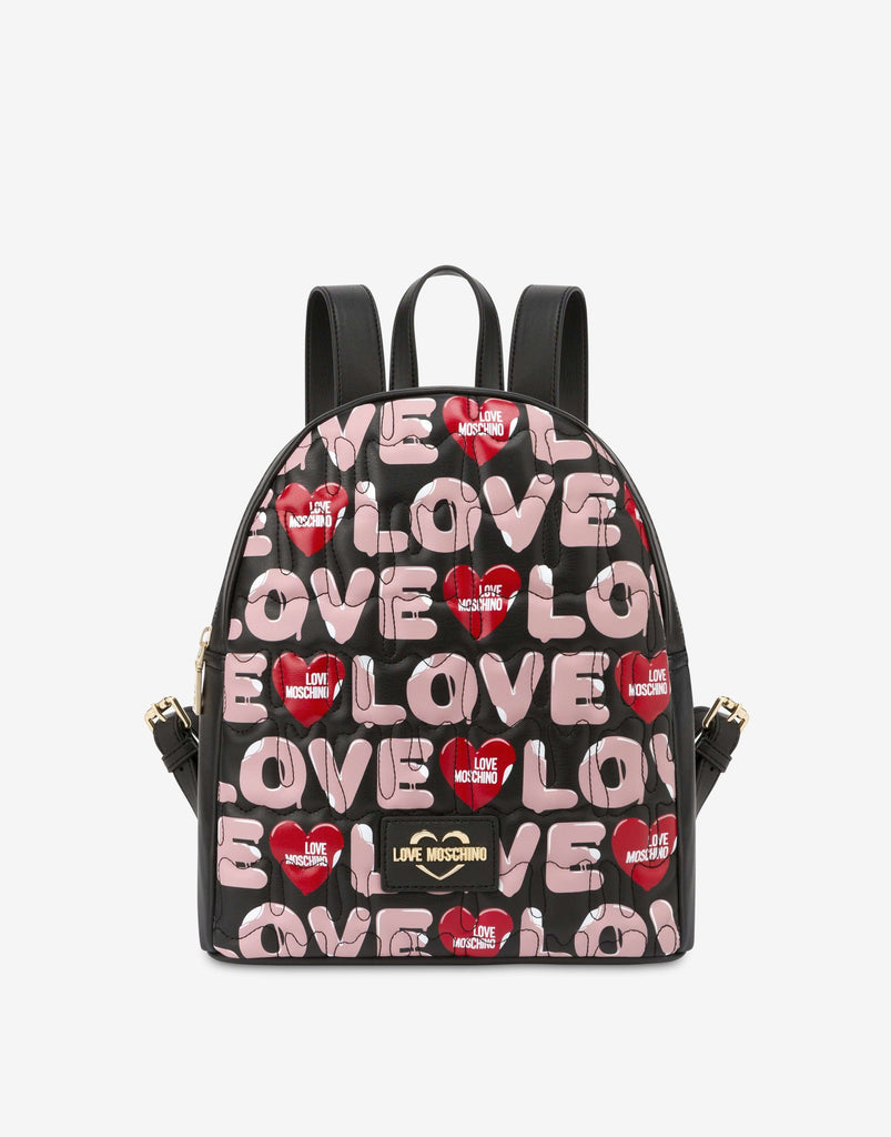 Love Moschino Bag Backpack Ice Cream Logo