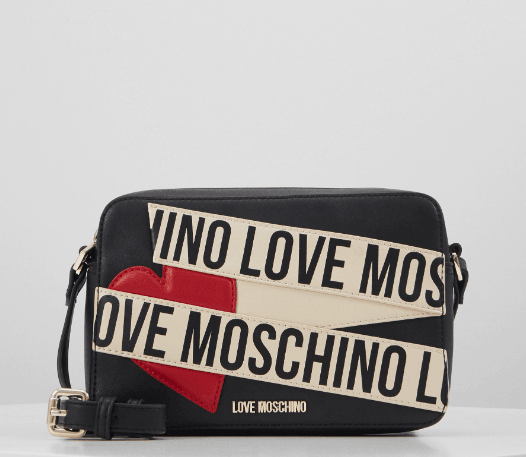 Love moschino schoudertasje logo allover