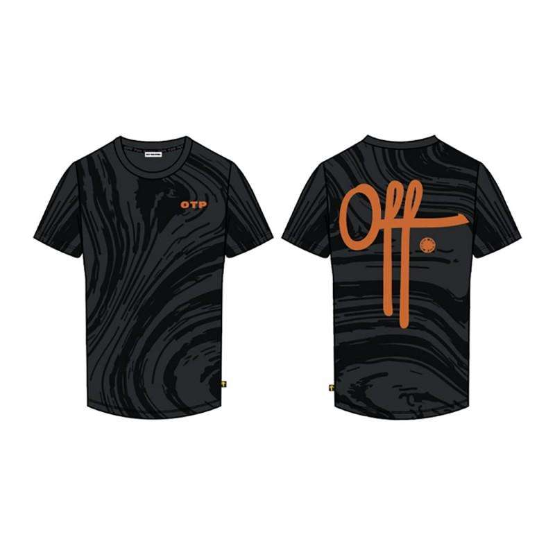 Off The Pitch T-shirt The Self Zwart