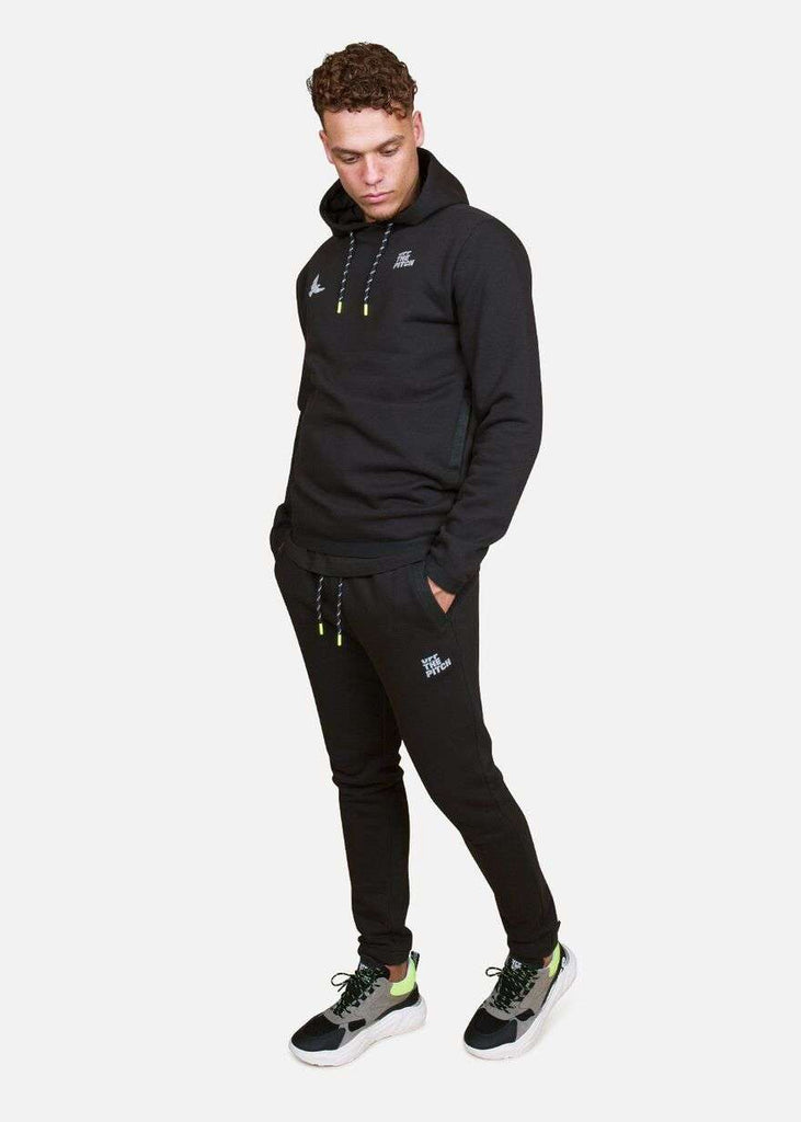 Off The Pitch Tracksuit Reflective Zwart