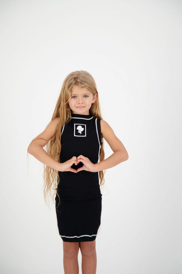 Reinders Kids Harley Dress Knitwear Zwart