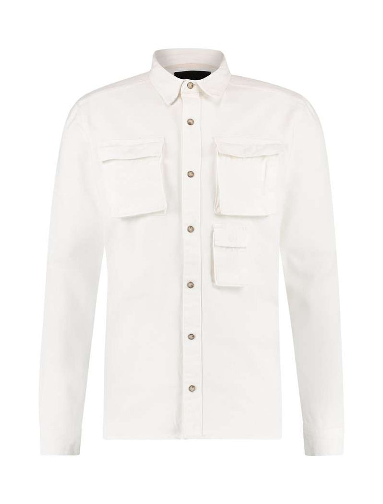 Purewhite Jacket Denim Wit