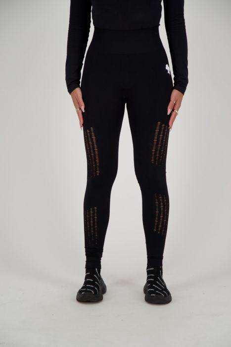 Reinders sport legging long destroyed black
