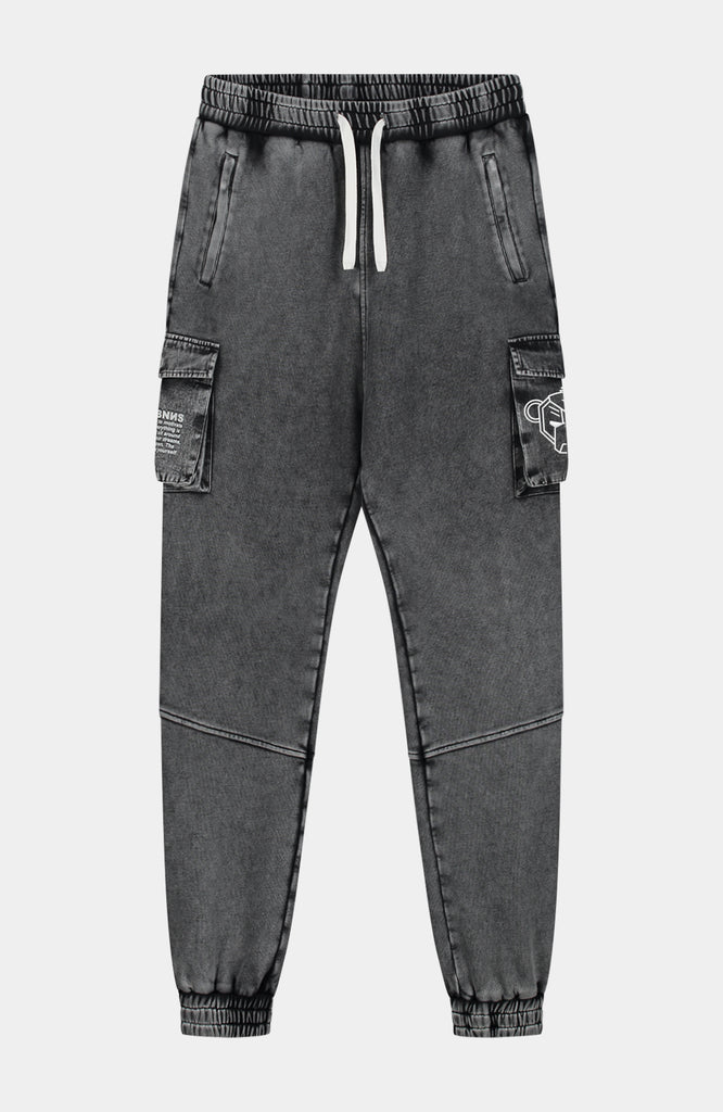 Black Bananas Washed Jogger Zwart