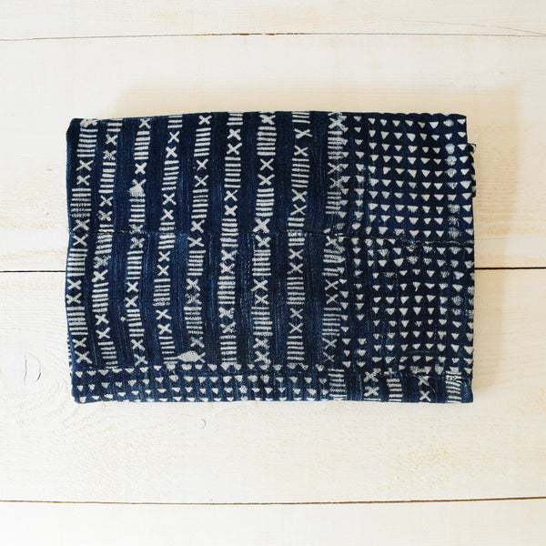 Vintage Indigo Mudcloth Fabric No.1 - Tala Collections