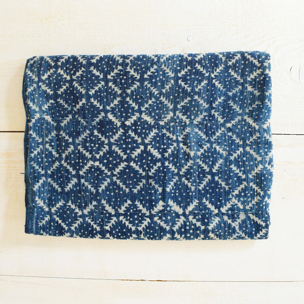 Vintage Indigo Mudcloth Fabric No.2 - Tala Collections