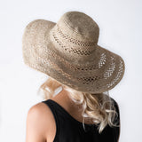 Wide Brimmed Raffia Hat - Tala Collections