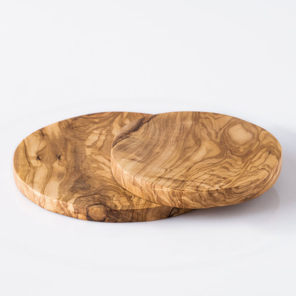 Olive Wood Round Cutting Board/Serving Platter