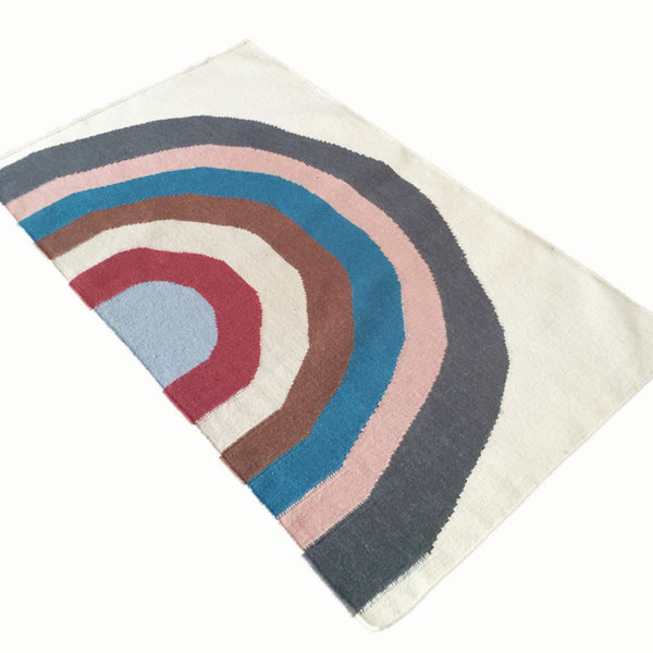 Over The Rainbow Wool Rug - Tala Collections