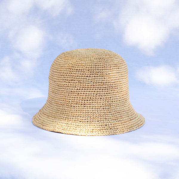 Raffia Bucket Hat - Tala Collections