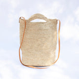 Raffia Bucket Bag - Tala Collections