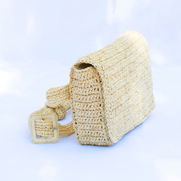 Raffia Belt Bag - Tala Collections