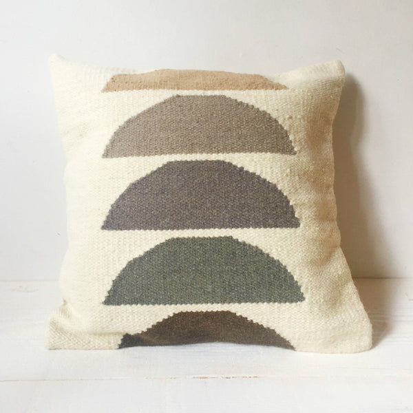 Sunset Wool Pillow Cover