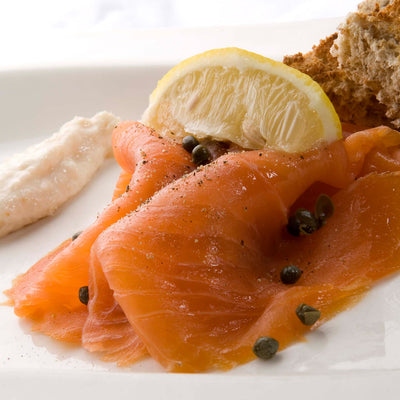 Malt Whisky Cured Smoked Scottish Salmon