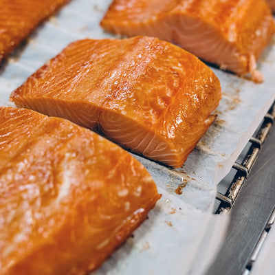 Heather Honey Cured Hot Smoked Scottish Salmon