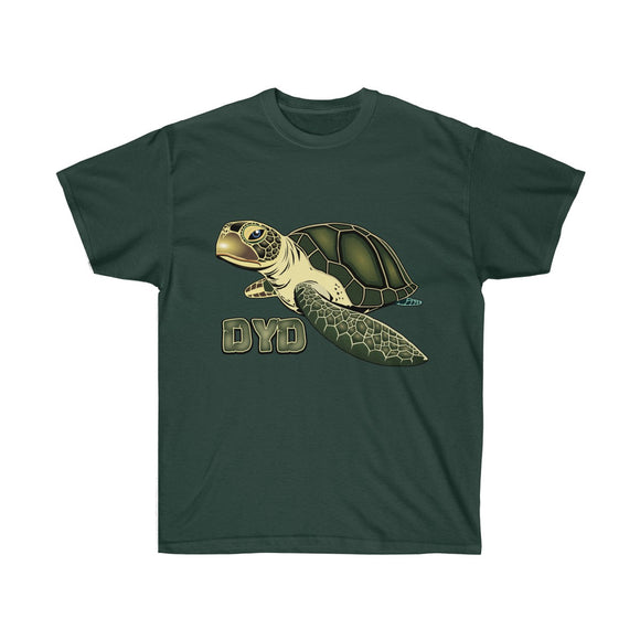 Green Turtle T-Shirt - 12 Colors