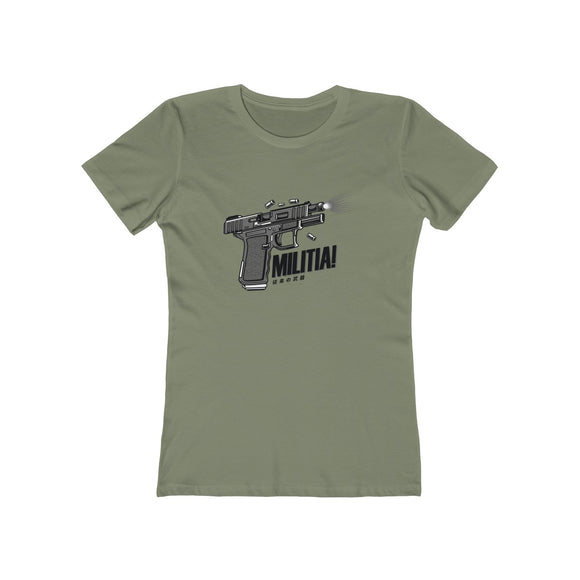 MILITIA Women's Boyfriend Tee - 14 Colors