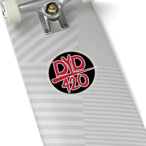 DYD Circle Stickers