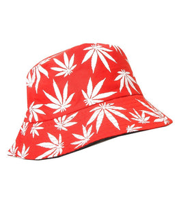 Bucket Fashion Hat Color-Red