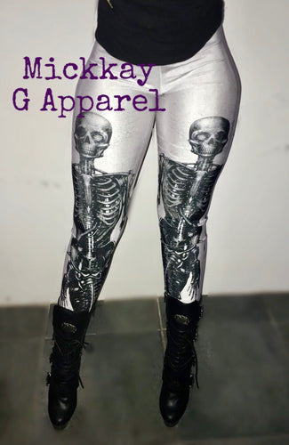 Mechro Skeleton Leggings