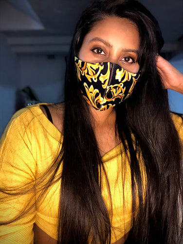 Lux gold mask