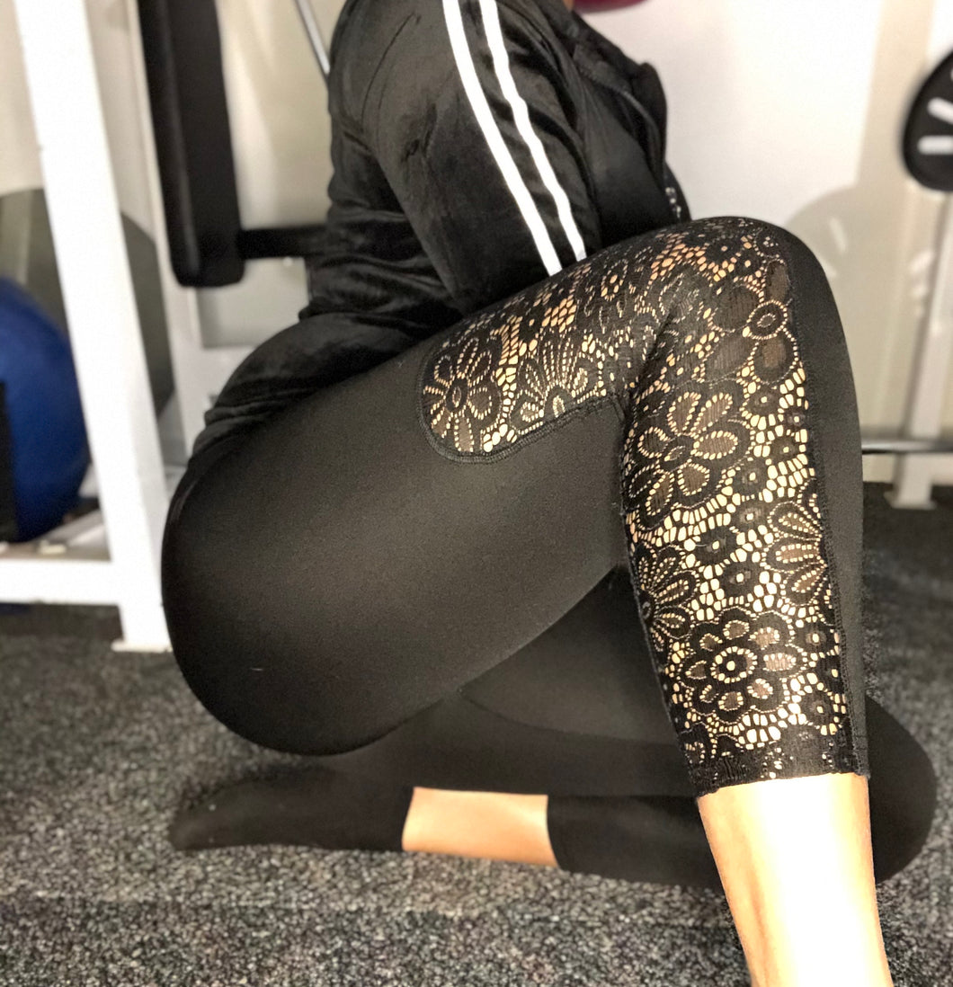 Bloom Net Leggings