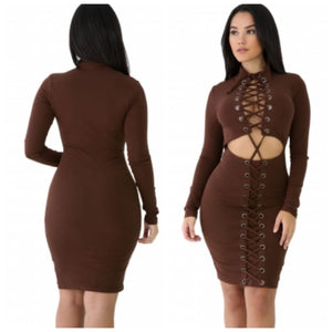Pocahontas Bodycon Dress -SALE
