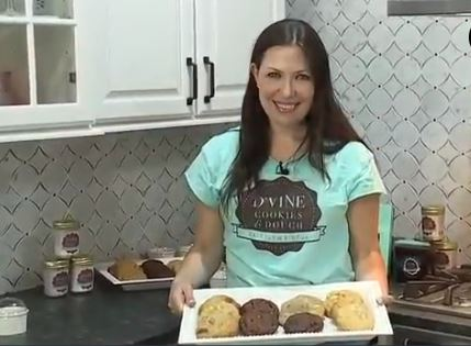 Detroit WXYZ: Local woman opens dream cookie business in Ferndale