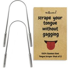 Load image into Gallery viewer, zero waste sustainable tongue scraper eco friendly