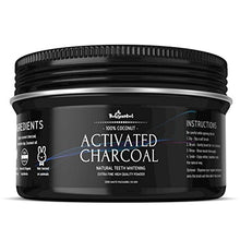 Load image into Gallery viewer, Teeth Whitening Activated Charcoal Powder eco friendly