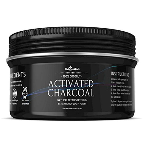 Teeth Whitening Activated Charcoal Powder eco friendly