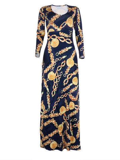 Off the Chain Maxi Dress