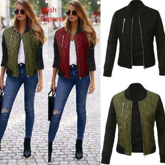 Sexy Ladies Bomber Jacket